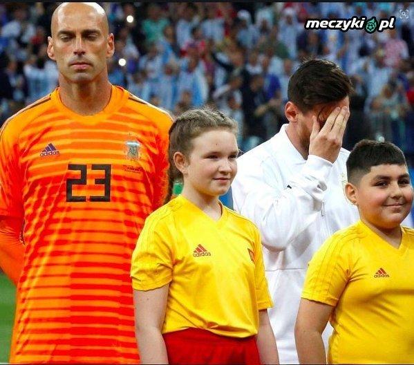 Messi już wiedział