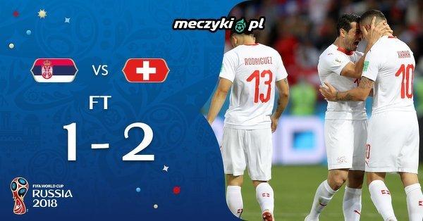 Szwajcaria wygrywa z Serbią