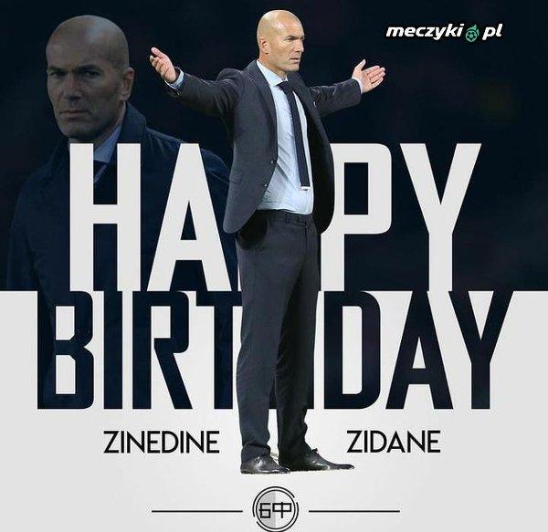 46 urodziny obchodzi dziś Zinédine Zidane