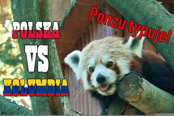 Znamy zwycięzcę meczu Polska - Kolumbia! Ponzu wytypował [VIDEO]