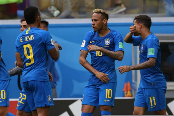 Brazylia wygrała z Urugwajem w Londynie. Neymar trafił z karnego