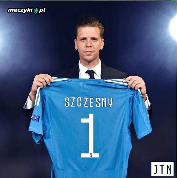 734e62f2e Szczęsny z numerem 1 na koszulce - Sportbuzz Meczyki.pl