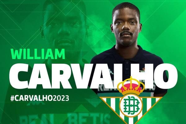Carvalho został piłkarzem Betisu