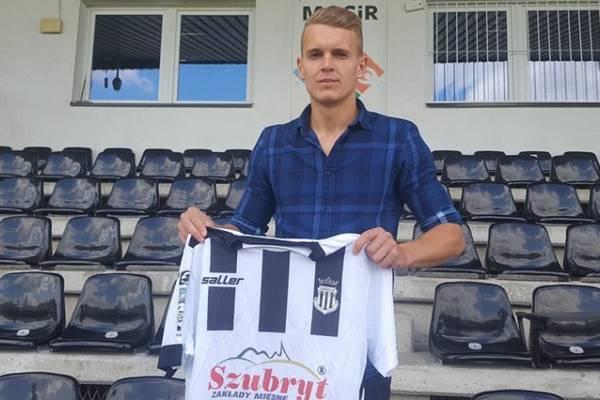 Gabrych podpisał kontrakt z Sandecją
