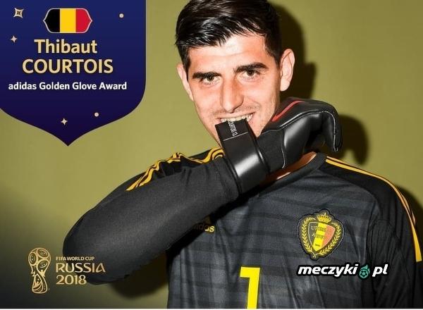 Złote Rękawice dla najlepszego bramkarza otrzymał Thibaut Courtois