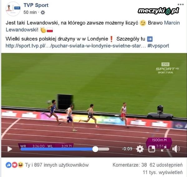 TVP Sport wbija szpilkę Lewandowskiemu