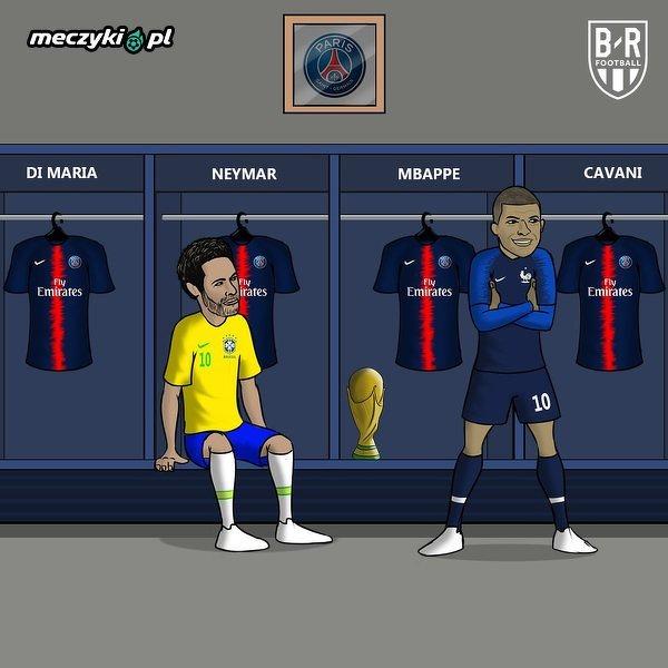 Neymar będzie zazdrosny?