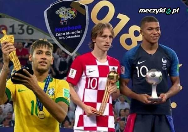 Neymar też dostał nagrodę za mundial