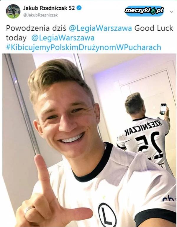 Rzeźniczak wspiera Legię w meczu z Cork City