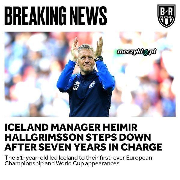 Islandia szuka nowego selekcjonera
