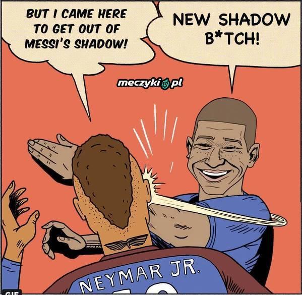 Chciał wyjść z cienia Messiego a w PSG może mieć problem z Mbappe