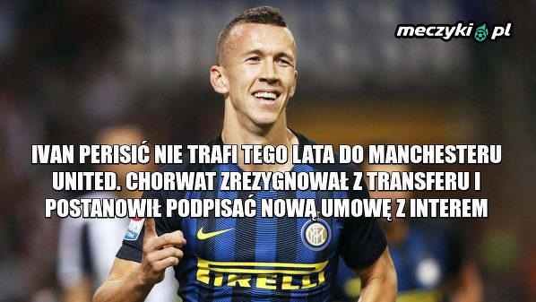 Ivan Perišić zrezygnował z transferu do Manchesteru United