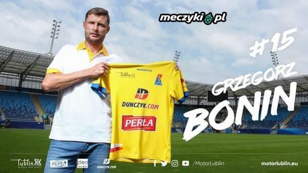 Grzegorz Bonin wylądował w Motorze Lublin