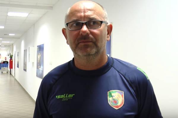 Trener Miedzi Legnica: Powinniśmy się wystrzegać stałych fragmentów gry