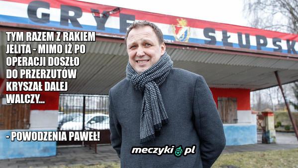 Paweł Kryszałowicz toczy kolejny ważny mecz w swoim życiu