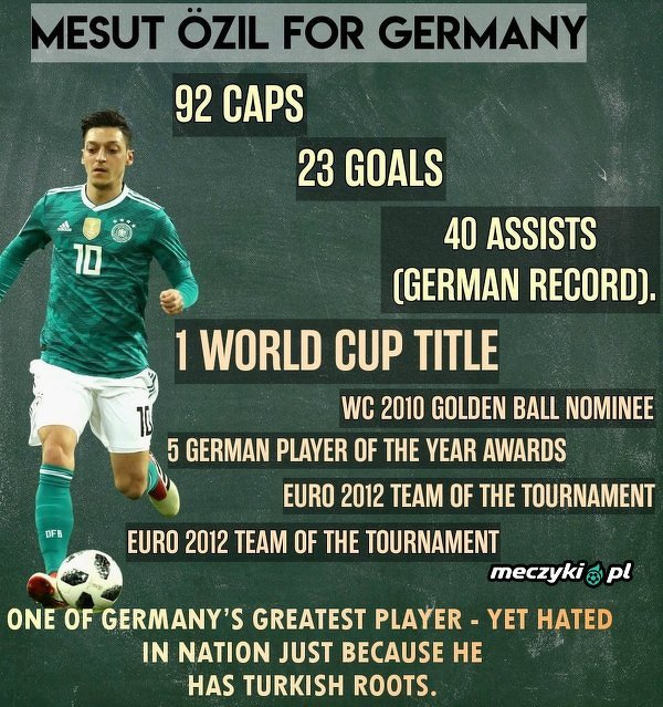 Mesut Özil w reprezentacji