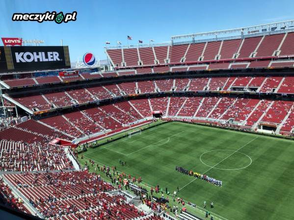 Frekwencja na meczu Man Utd z San Jose Earthquakes