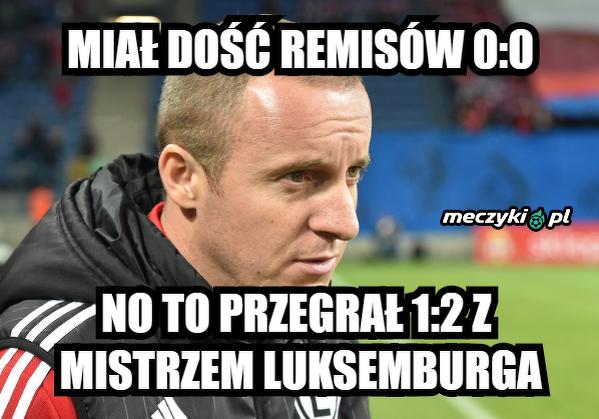 Trener Vuković się przełamał
