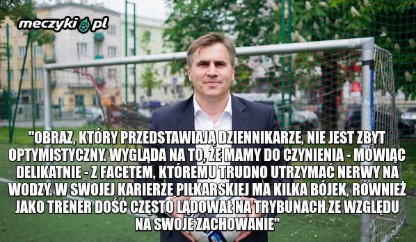 Dziekanowski o nowym trenerze Legii Warszawa