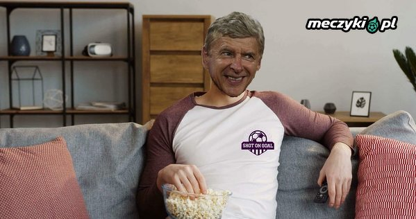 Tak teraz Wenger ogląda mecze Arsenalu