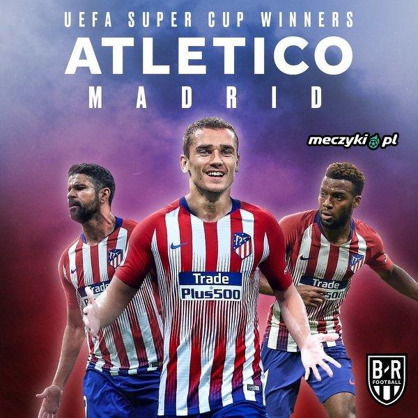 Atletico Madryt zwycięzcą Superpucharu UEFA