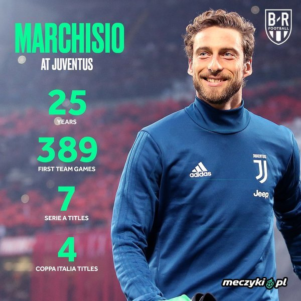 Liczby Marchisio w Juventusie