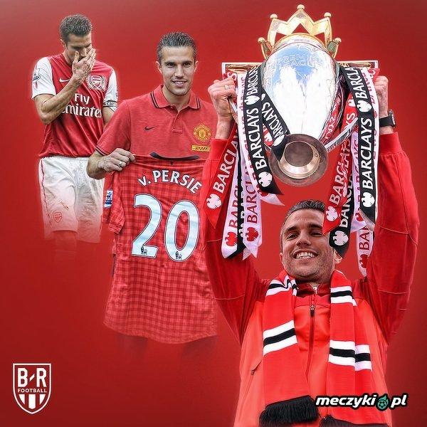 6 lat temu Robin van Persie został piłkarzem Manchesteru United