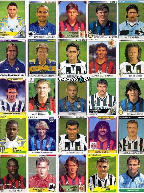 Serie A w latach 90-tych