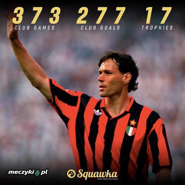 23 lata temu Marco van Basten przedwcześnie zakończył karierę