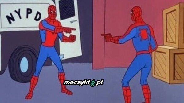 David Luiz i Mattéo Guendouzi widząc siebie nawzajem na boisku