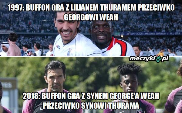 Buffon, Weah i Thuram