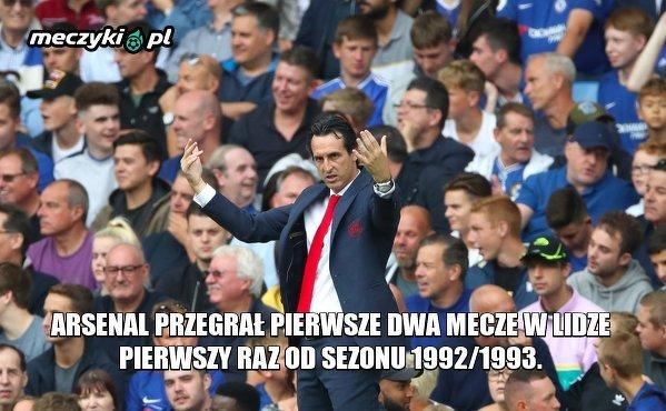 Emery szybko zapisał się w historii Arsenalu