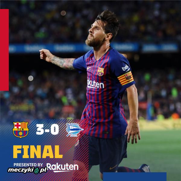 6000 gol dla Barcelony w lidze i dwie bramki. Messi