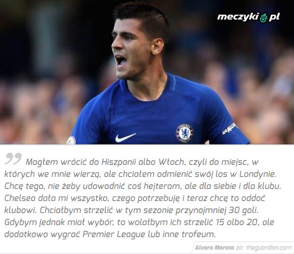 Dlatego Morata nie odszedł z Chelsea
