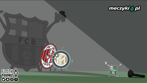 Sassuolo jak Barcelona dla ekip z Mediolanu