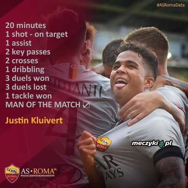 Wystarczyło 20 minut, aby został piłkarzem meczu
