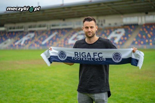 Kamil Biliński piłkarzem Riga FC