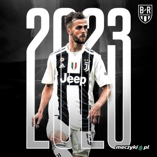 Miralem Pjanić przedłużył kontrakt z Juventusem do 2023 roku