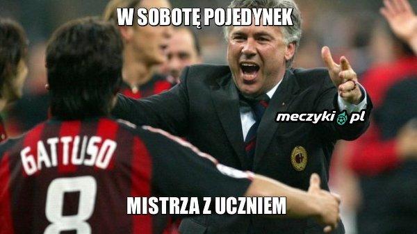 Kto wyjdzie z tego pojedynku zwycięsko? Gattuso czy Ancelotti?