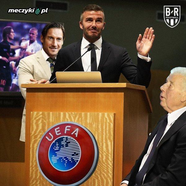 David Beckham odbierze nagrodę od UEFA za wkład w piłkę nożną i promowanie jej na całym świecie
