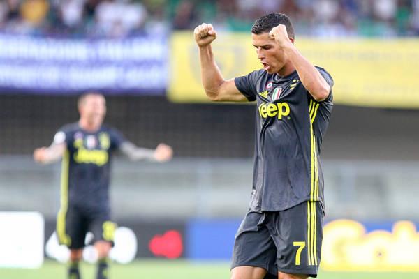 Dwa gole Cristiano Ronaldo dla Juventusu! W końcu się przełamał! [VIDEO]