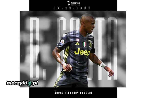 Pomocnik Juventusu Douglas Costa kończy dziś 28 lat