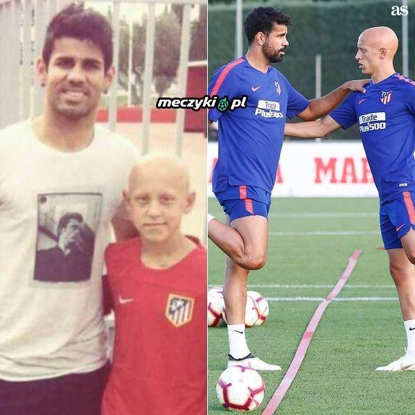 VIctor Mallejo marzył o zdjęciu ze swoim idolem, dziś trenuje z nim razem w jednej drużynie