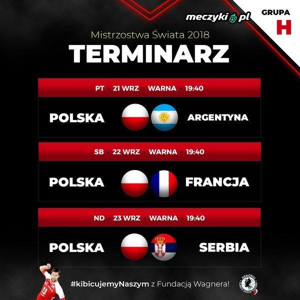 Mecze Polski w 2. fazie Mistrzostw Świata w siatkówce