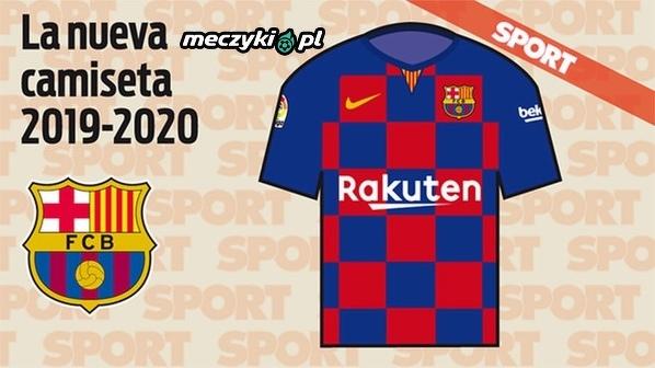 """Nowe koszulki Barcelony wg katalońskiego """"Sportu"""""""