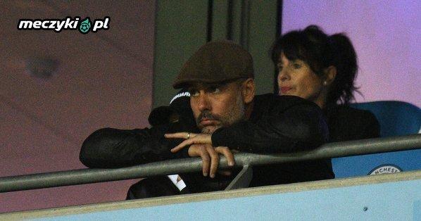 Guardiola na wczorajszym meczu