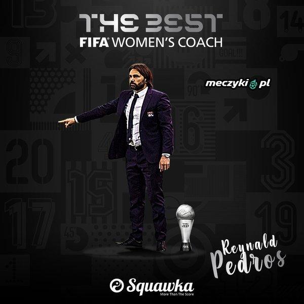 Reynald Pedros najlepszym trenerem żeńskiej drużyny