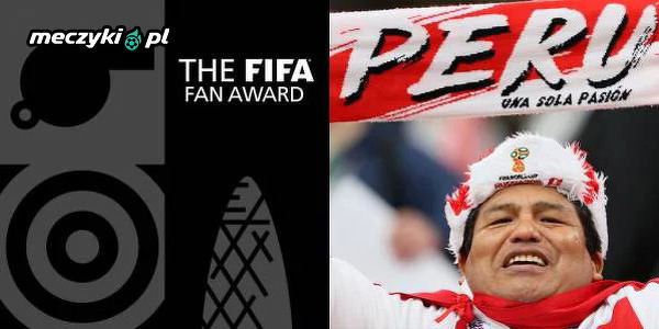 Kibice Peru z nagrodą FIFA The Best