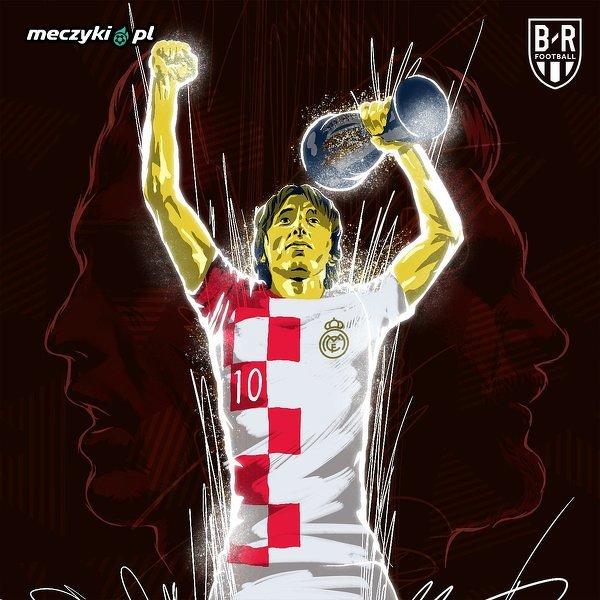 Modric przerwał dziesięcioletnią dominację Messiego i Ronaldo