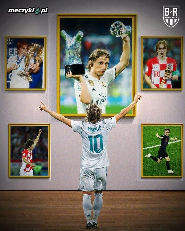 Luka Modric w 2018 roku